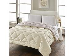 LoftWorks White Goose Down Alt Comforter