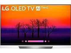 """LG Electronics 65"""" 4K Ultra HD Smart OLED TV"""