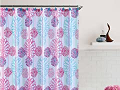Cameron Embossed Shower Curtain