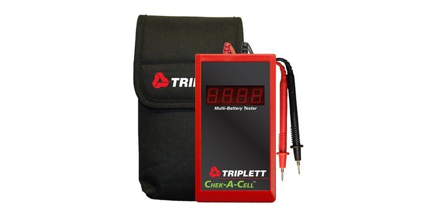 Lead Acid Battery Tester : Triplett sealed lead acid battery tester