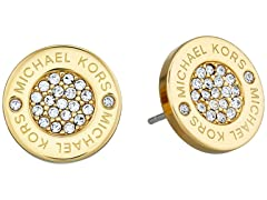 Michael Kors SS Pave Stud Earrings