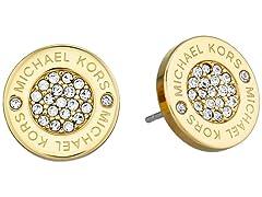 Michael Kors SS Pave Stud Earrings
