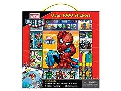 Marvel Heroes Sticker Box