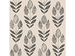 Folk Tulip Peel & Stick Wallpaper