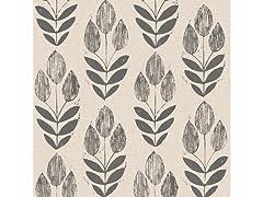 Folk Tulip Peel & Stick Wallpaper