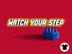 Watch Your Step Tee