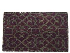 Coir Mat Lila Purple/Grey