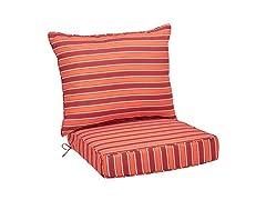 AmazonBasics Deep Seat Patio Cushion Set