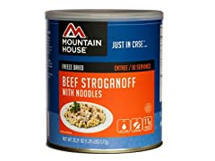 Mountain House Beef Stroganoff #10 Can