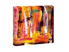 Abstract Vivid- Gallery Wrap or ArtBlock