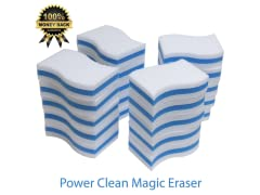 STK STKPC40 STK 40-Pack Extra Thick Power Clean Magic Eraser