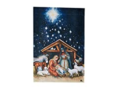 MagnetWorks Holy Night Garden Flag