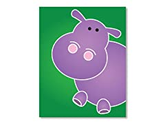 "11"" x 14"" Hippo Print"