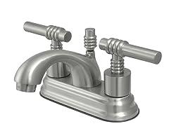 Milano Teapot Lavatory Faucet, Satin Nickel