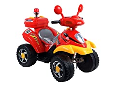 Red/Yellow 360 4-Wheeler