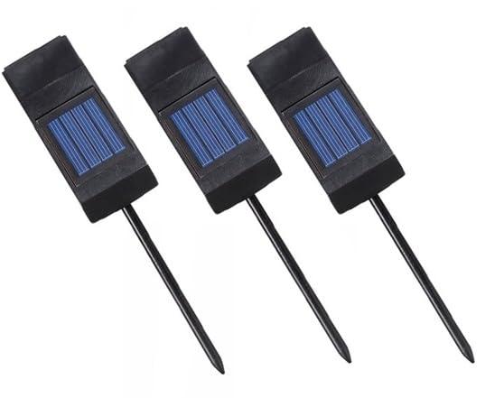 Design Craft Solar Plant Light 3 Pack Kit
