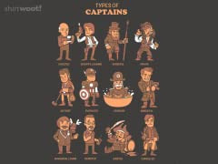 Types of Captains