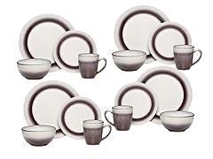 Pfaltzgraff 16-PC Dinnerware Set - Plum  sc 1 st  Woot & Manly Plates u0026 Glasses