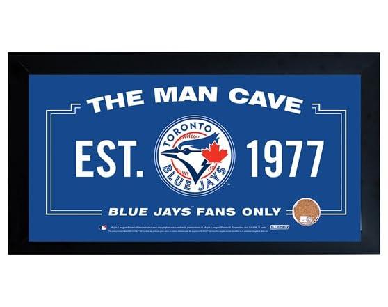 Gamer Man Cave Signs : Framed man cave sign w game dirt