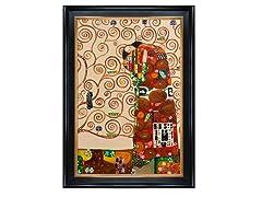 Klimt - Fulfillment (The Embrace)