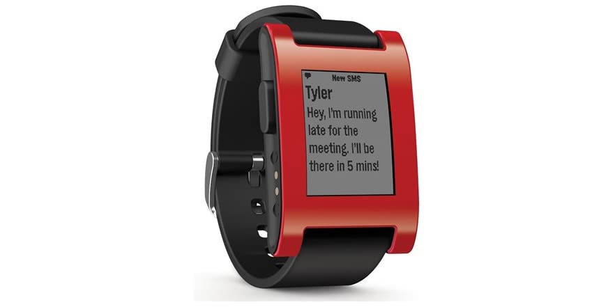 it's there, pebble smartwatch for iphone and android reviews recommended