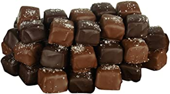 56 Pc. Fleur de Sel Chocolate Covered Caramels