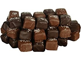 Fleur de Sel Chocolate Covered Caramels