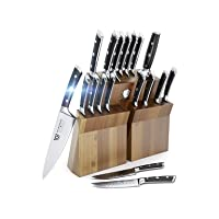 Deals on Dalstrong Gladiator Series 18 Pc German Steel Knife Block Set