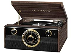 Victrola Record Player with 3-Speed Turntable & Radio