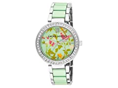 Laura Ashley Ladies Duck Egg Dial Watch