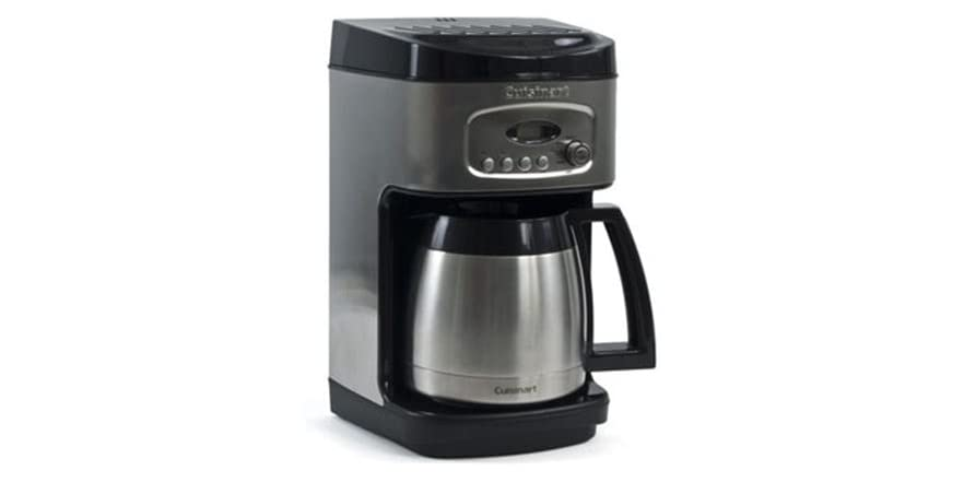 Cuisinart Coffee Maker Dual Cup : Cuisinart Brew Central 12-Cup Coffee Maker