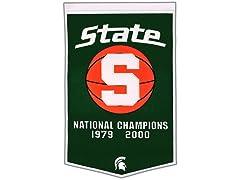 Michigan State Dynasty Banner