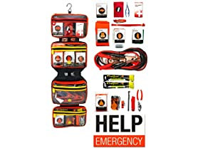 Relief Pod Deluxe Roadside Emergency Kit