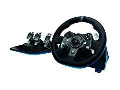 Logitech Driving Force Racing Wheel-Xbox