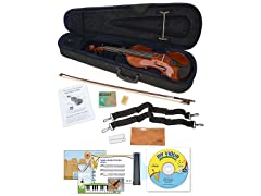 eMedia My Violin Starter Pack for Kids - Full Size Violin