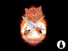 Hell's Kitten Apron