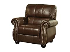 Ashley Italian Leather Armchair