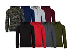 Men's 2-Pack Classic Pullover Hoodies