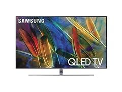 "Samsung Q7F 55"" Class HDR UHD Smart QLED TV"