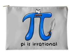 Pi is Irrational Accessory Pouch