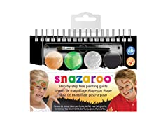 Reeves Snazaroo Halloween Face Paint Kit