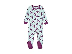 Leveret Kids Pajamas Footed Sleeper