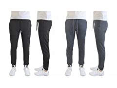 Men's Slim Fit Lounge Joggers 2Pk