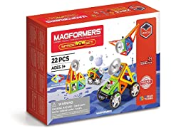 Magformers Space Wow 22 Pieces Rainbow
