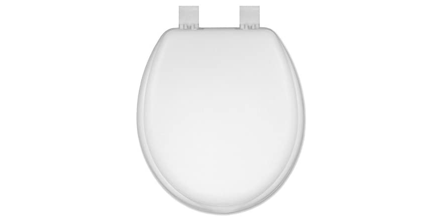 17 Inch Round Painted Shell Toilet Seat
