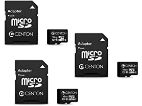 Centon Micro SD UHS-I 3 Pack