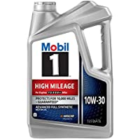 Deals on Mobil 1 High Mileage Full Synthetic Motor Oil 10W-30 5 Quart