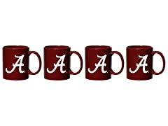 NCAA Coffee Mug 4-Pack