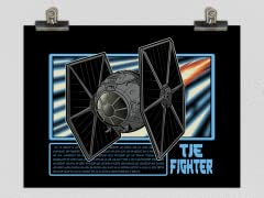 Imperial Fighter Matte Poster