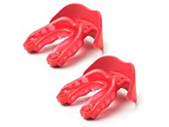 Shock Doctor Mouthguard 2pk - Red